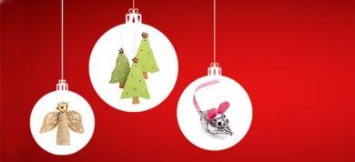 Δείτε πώς θα φτιάξετε με τα παιδιά τα πιο όμορφα στολίδια για το χριστουγεννιάτικο δέντρο, χωρίς κόπο και έξοδα, αλλά με δημιουργική διάθεση!