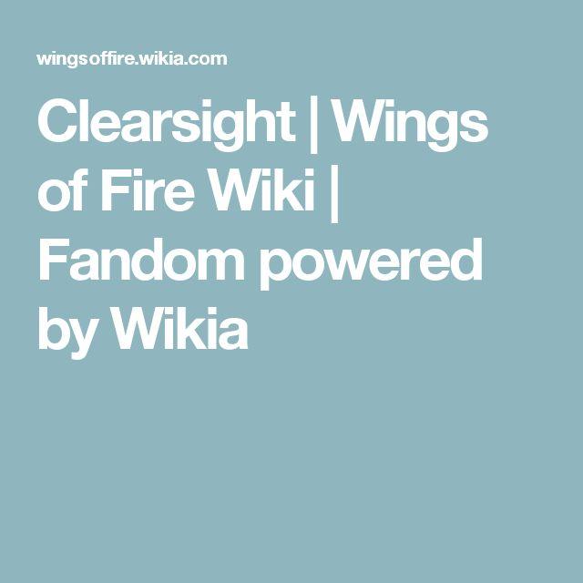 Clearsight | Wings of Fire Wiki | Fandom powered by Wikia