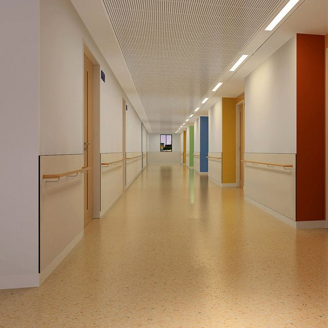 Source Hospital Wall Pvc Vinyl Sheet Covering On M Alibaba Com Vinyl Flooring Corridor Design Hospital Design