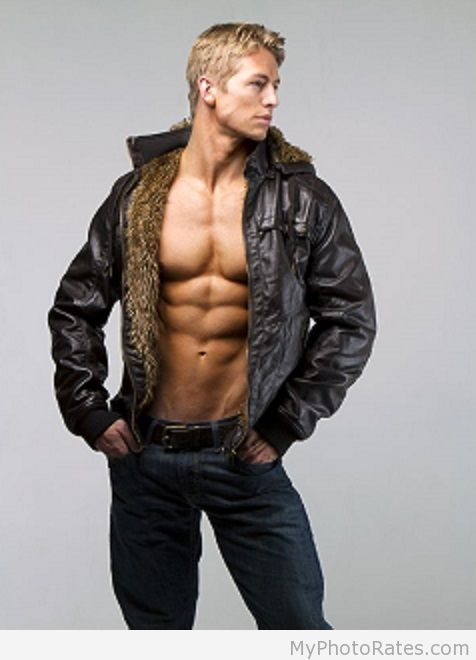 hot Sexy Blonde Bomber, curated by NYC Gentleman's Club