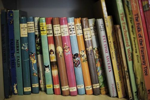 """Old Enid Blyton books . . These books are memories of my childhood, my favourite is """"The Christmas Story """" telling the customs of why we do certain things around Christmas time i read it when i was little but it took me years to find it  , I have it now & its not going anywhere i so love this story . ."""