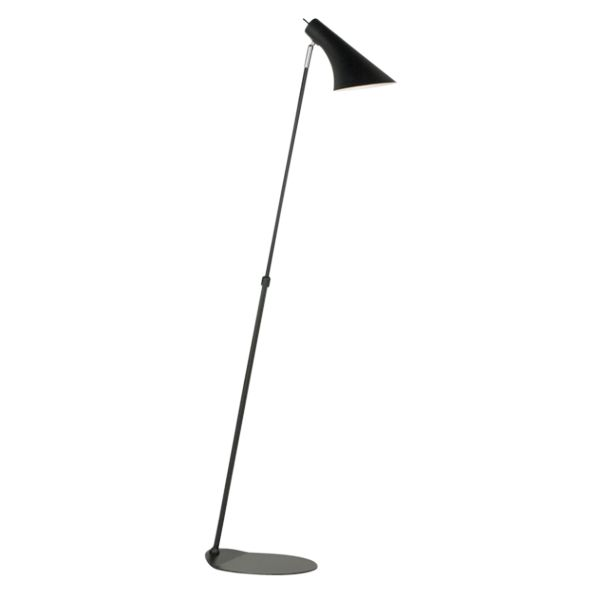 A Sleek, Well Crafted, Adjustable Floor Lamp, To Match The Wall And Table