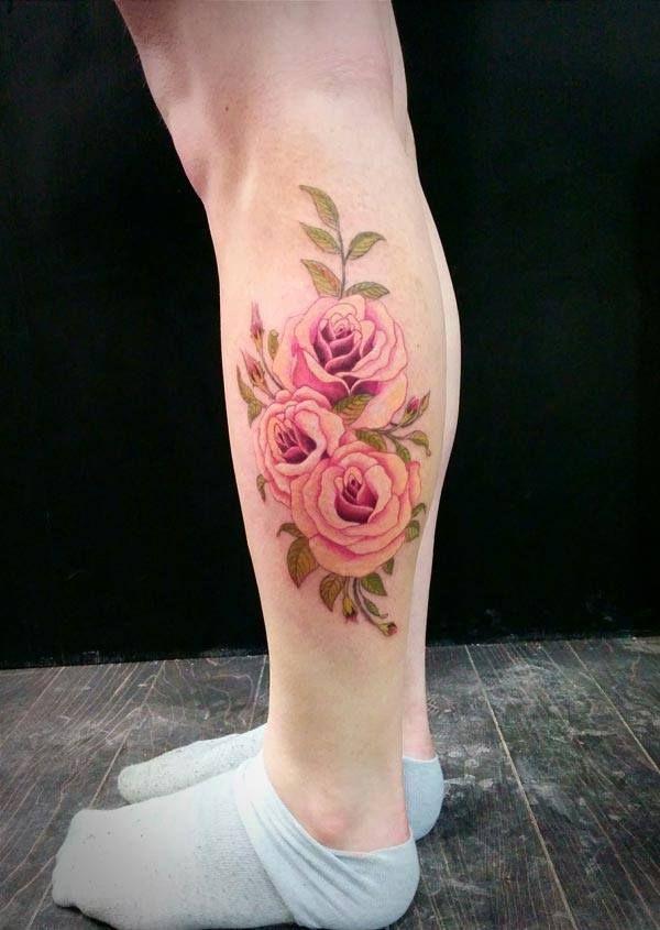 1000 ideias sobre Calf Tattoo no Pinterest | Tatuagens Tatuagens ...