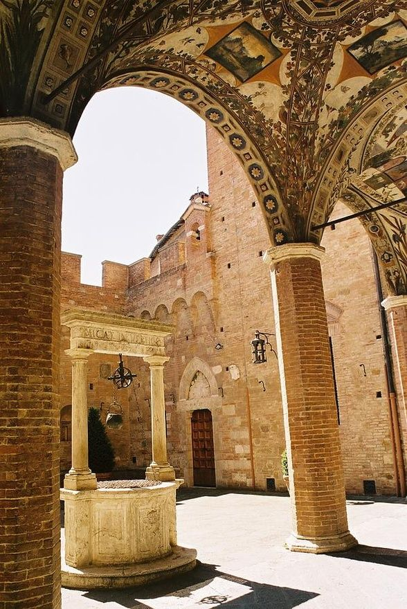 Courtyard Academy Of Music - Siena, Italy