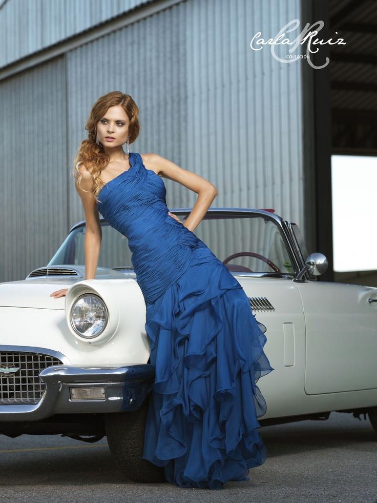 Vestido de Fiesta de Carla Ruiz 2012 - Modelo 86078
