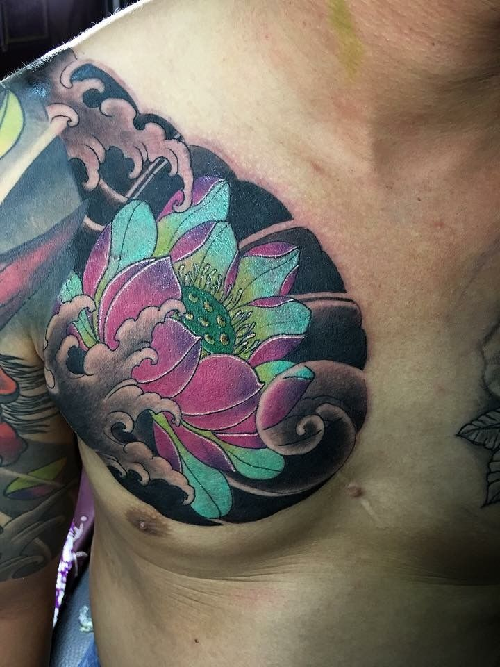 Pin By Chris Graves On Color Tattoos Japanese Tattoo Sleeve Tattoos Japanese Flower Tattoo