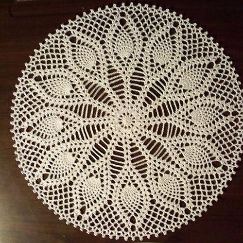 581 besten Crochet Doilies & Mandalas Bilder auf Pinterest   Häkeln ...