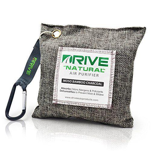 DRIVE Natural Car Air Freshener (Gray) - Best Auto Purifi