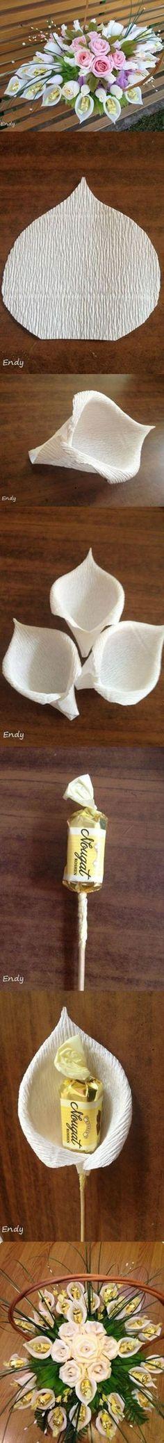 Flower bouquet tutorial    DIY & Crafts Tutorials