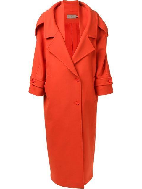 Купить Preen By Thornton Bregazzi длинное пальто в Laboratoria Farfetch предлагает товар из лучших независимых бутиков со всего мира.
