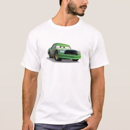 Chick Hicks Green Race Car Disney T-Shirt - tap, personalize, buy right now!