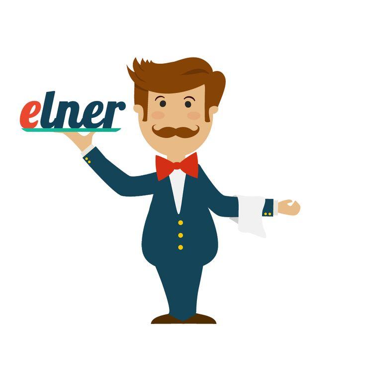 Oto Elner - twój elektroniczny kelner! Zamawiaj z nim jedzenie przed przyjściem do restauracji. Sprawdź na elner.pl
