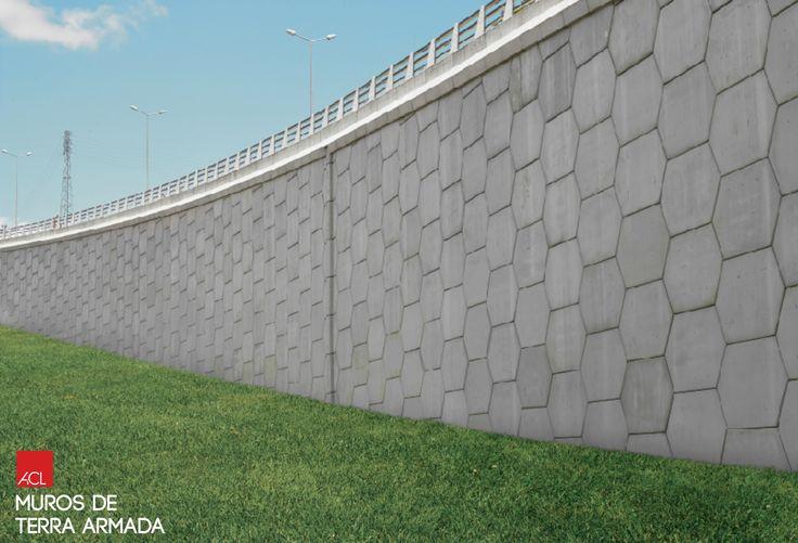 ACL Muros de Terra Armada Reinforced Earth Walls  #acl #acimenteiradolouro #betao #arquitetura #concrete #walls #architecture
