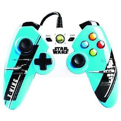 Product Info The officially licensed Star Wars: The Force Awakens wired controllers for Xbox 360 feature all new imagery from Episode 7 the latest in the Star Wars saga. Choose X-Wing to be part of th