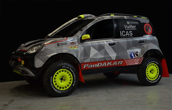 PanDakar, la prima auto italiana a finire la Dakar