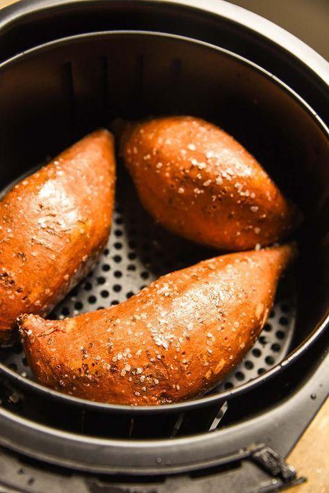 Air Fryer Baked Sweet Potato Recipe Results In A Sweet