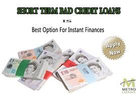 With short term bad credit loans in the UK, you have a medium through which immediate funds can be sourced in quick time. The loans are meant for people with bad credit history and by making a comparison of the offers, you can attain viable offers.
