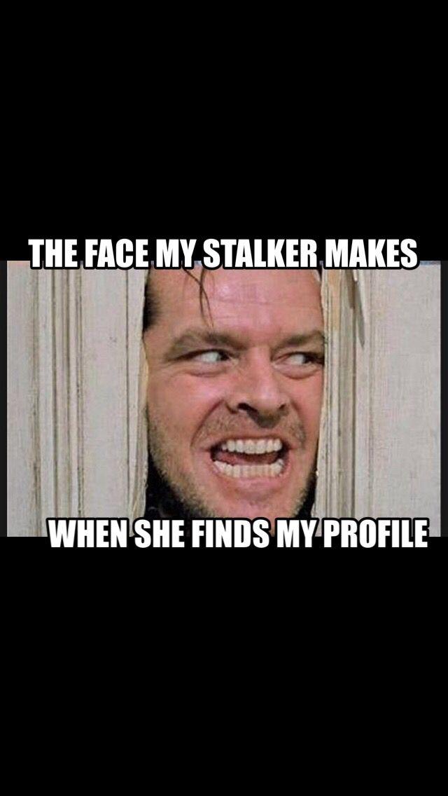 Stalker meme.