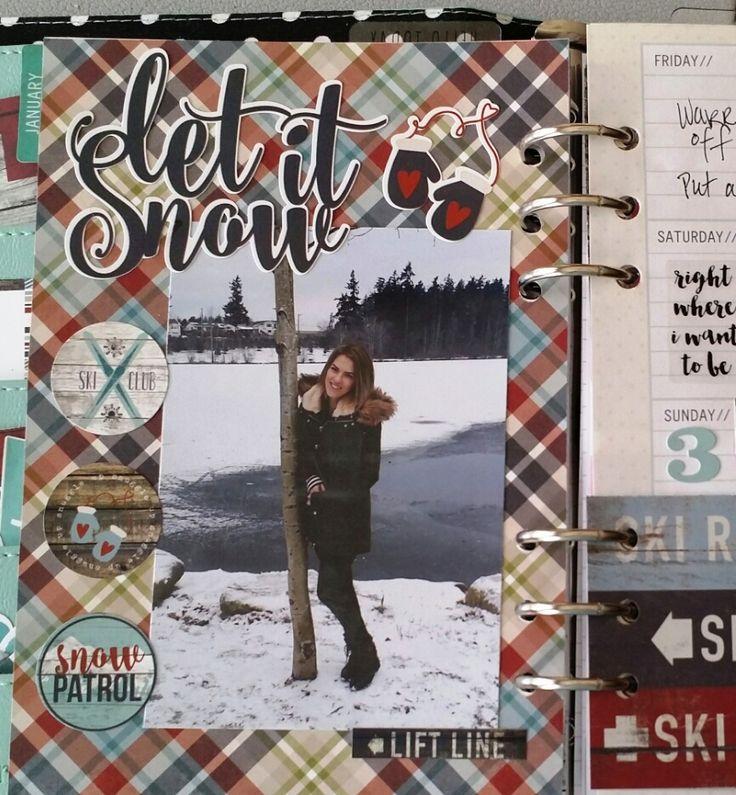 My+planner - Snow Patrol Simple Set - Scrapbook.com