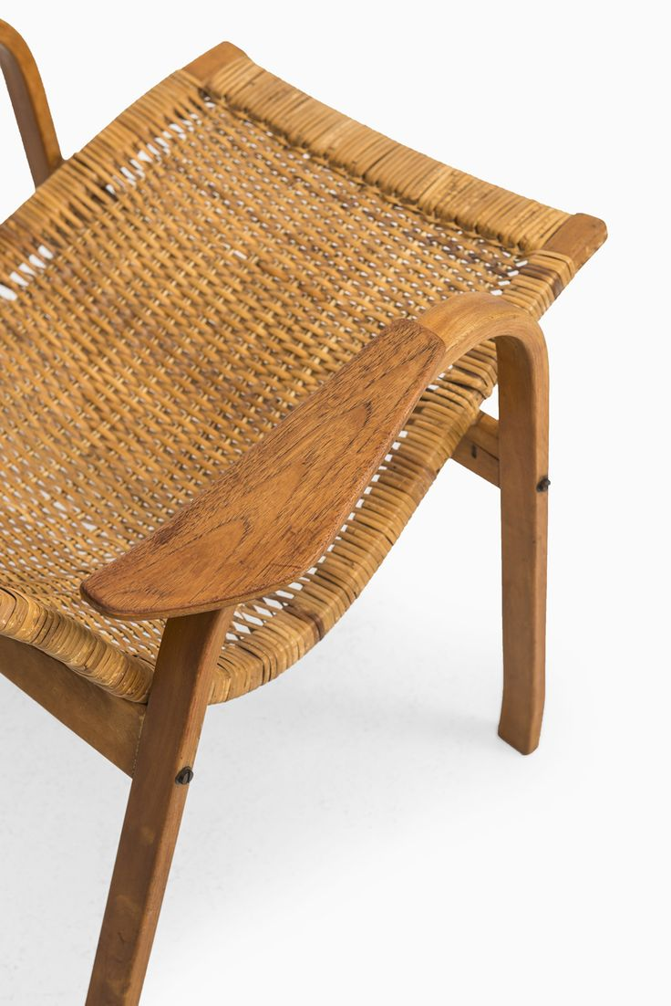 Easy wooden chair designs - Yngve Ekstr M Kurva Easy Chair