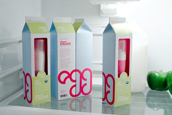 EGG by Julie Do, via Behance: Packaging Design, Packaging Inspiration