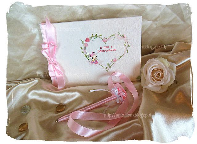 Il Blog di Artefem: Nuovo guestbook tema Minnie baby