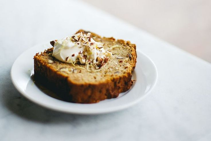 Zucchini Bread with Dates and Hazelnuts recipe on Food52