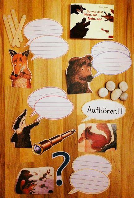 """Auch das Streiten muss gelernt sein. Bilderbuch zum Thema """"Streit"""": So war das! Nein, so! Nein, so! (Grundschulteacher – Montessori & mehr) – Sonja Rauh"""