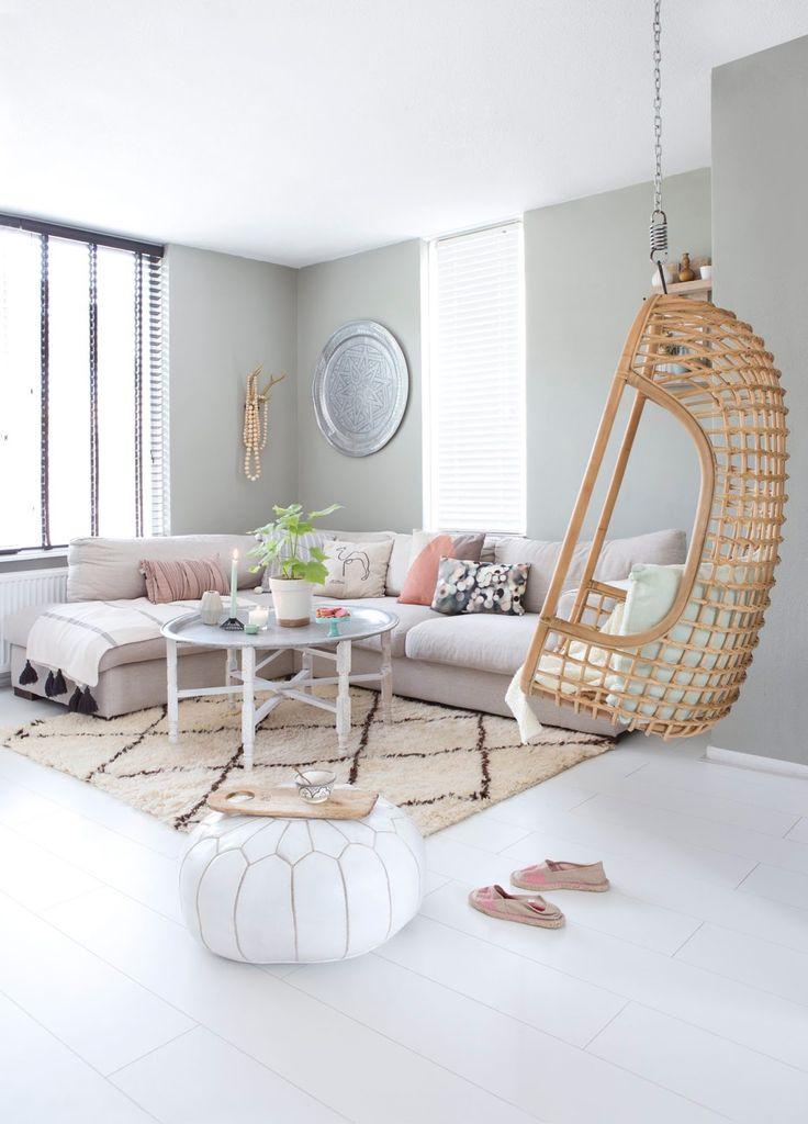 Casinha colorida: Decoração: salas de estar para o Verão