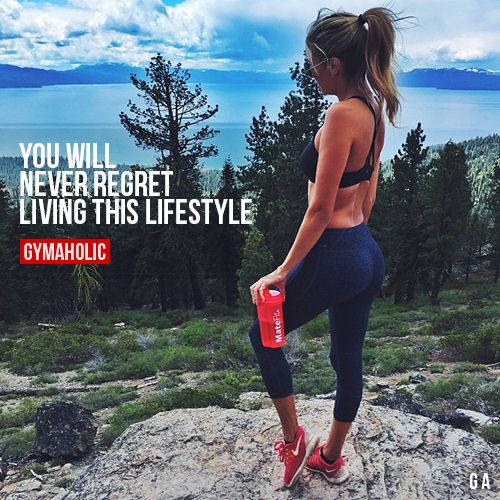 "gymaaholic: "" You Will Never Regret Living This Lifestyle Trust me, you will never regret it. http://www.gymaholic.co """