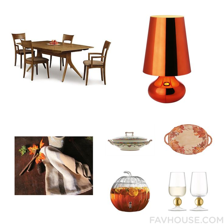 Homeware List With Copeland Furniture Dining Table Orange Lamp Kitchen Linen And Holiday Dishe From November 2016 #home #decor