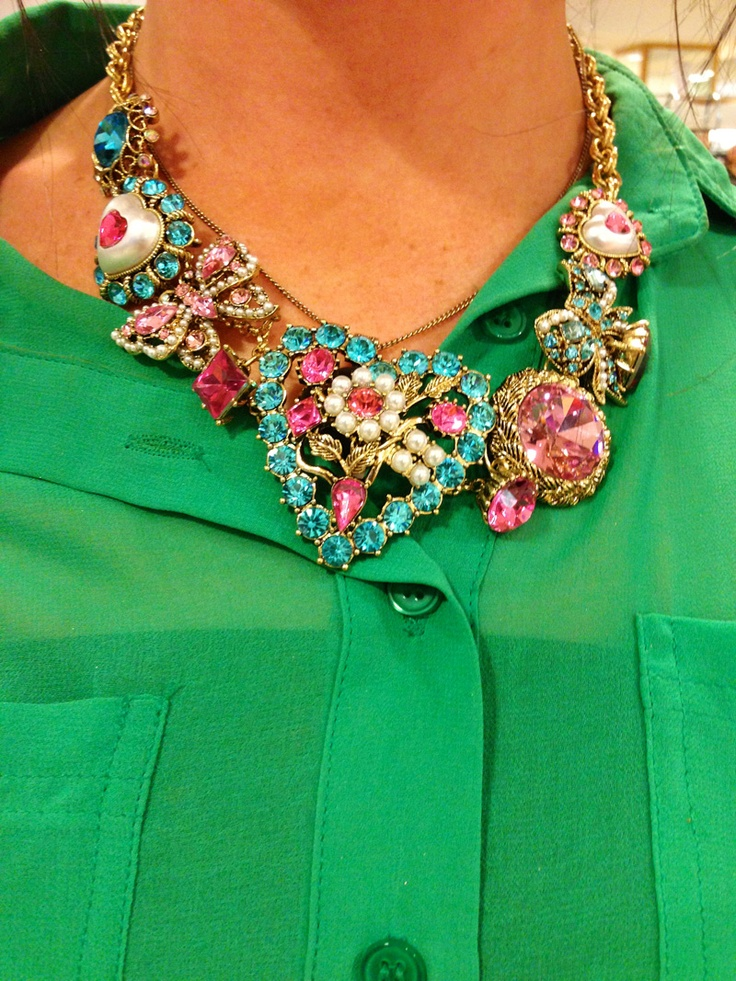 So colorful! Love it for Spring/Summer!!