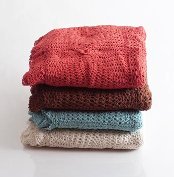 crochet throw.