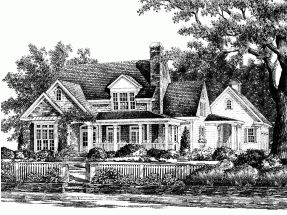 Southern Living Farmhouse Plans Eplans #HWEPL55889