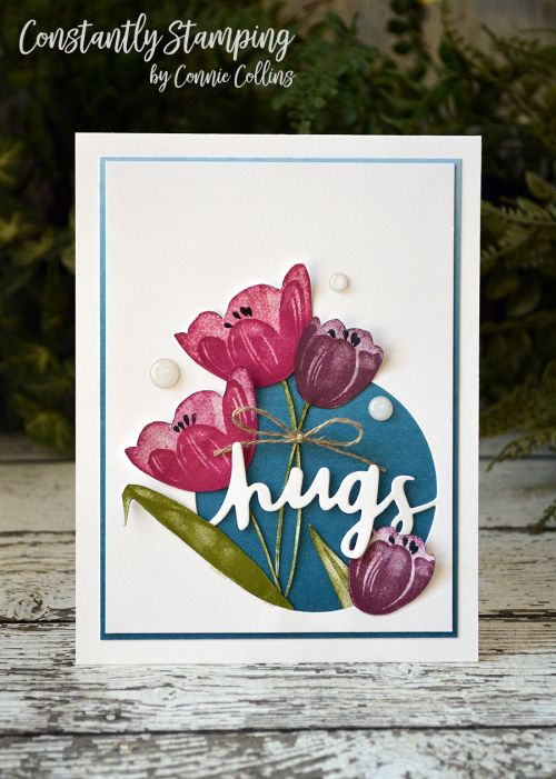 Tranquil Tulips, Lovely words, Stamping Up