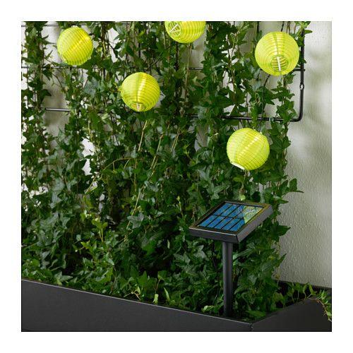 SOLARVET LED lighting chain with 24 lights  - IKEA