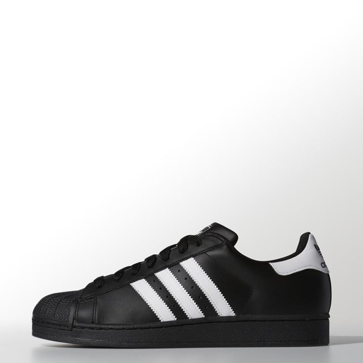 Adidas - Original Superstar white on black