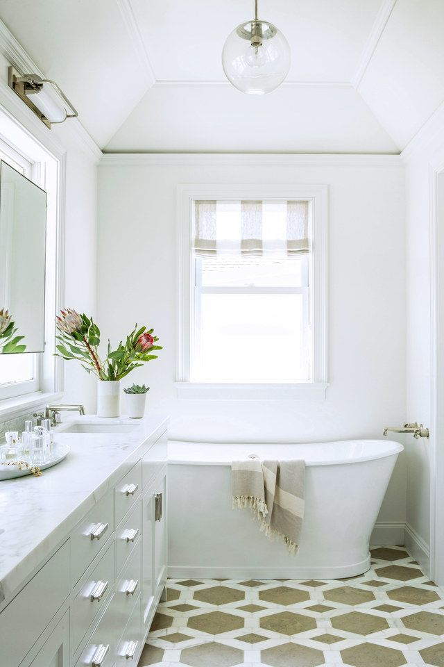Pictures In Gallery A Century Old House in San Francisco Gets a Modern Makeover White SpaceWhite BathroomsOld