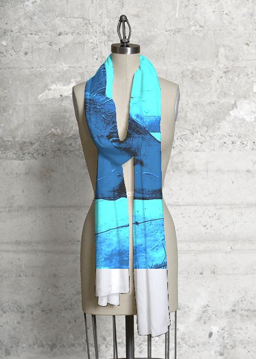 Modal Scarf - Deberas Time Flies by VIDA VIDA 9cfqlFD