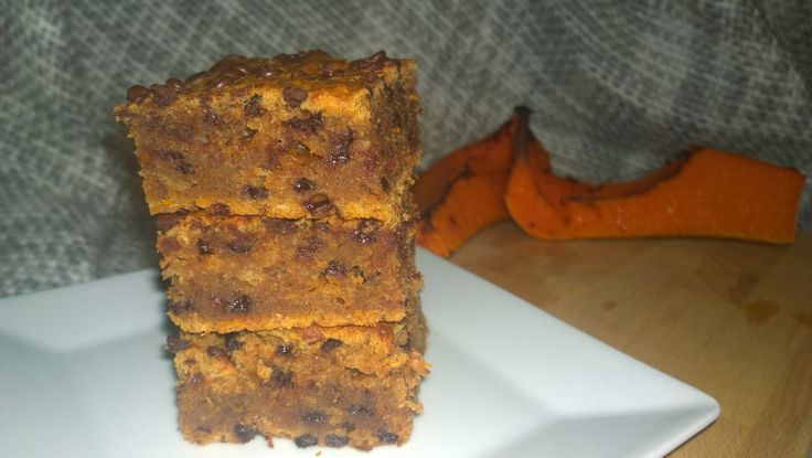 Pumpkin chocolate chips cake/Tökös csokis szelet