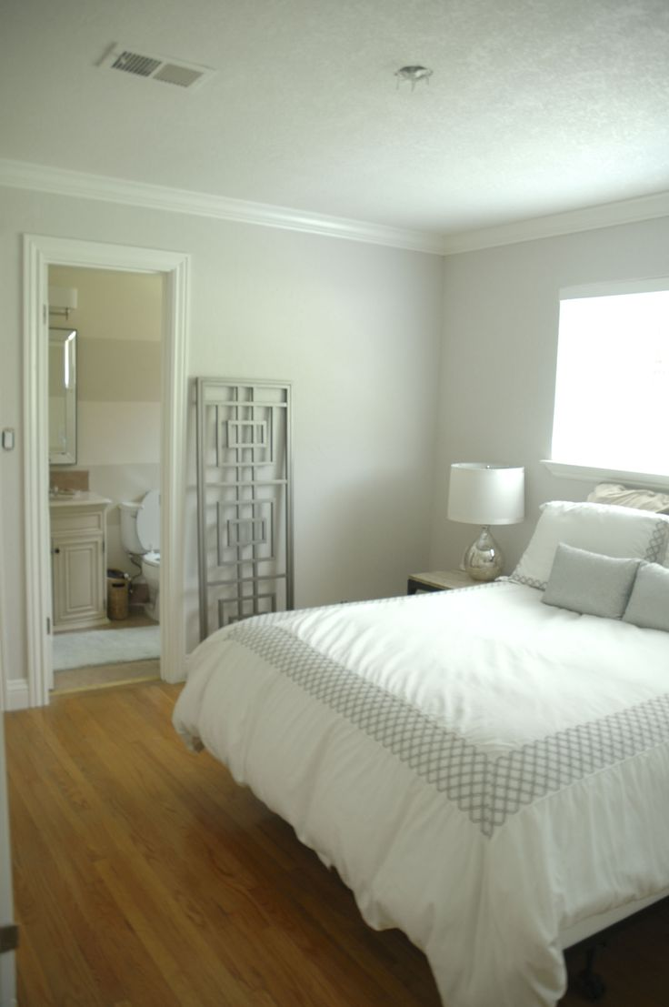 Bedroom makeover - Benjamin Moore Balboa Mist | Home ...