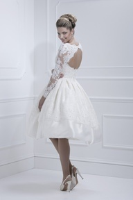 how about this wedding dress for your rehearsal dinner