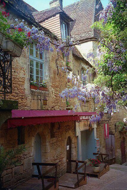 Un jour d'été, un petit tour à Sarlat, Dordogne