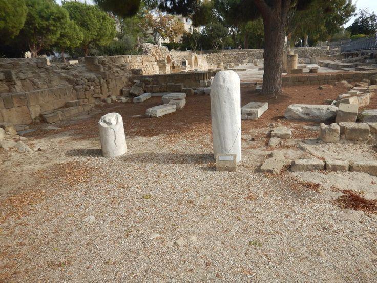 De pilaar waar de apostel Paulus gegeseld is