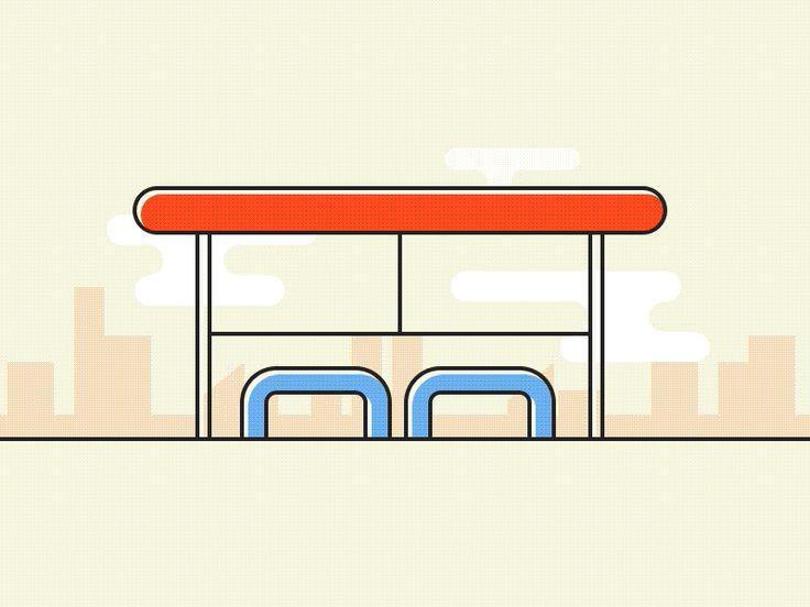 Bus stop | Choosing style