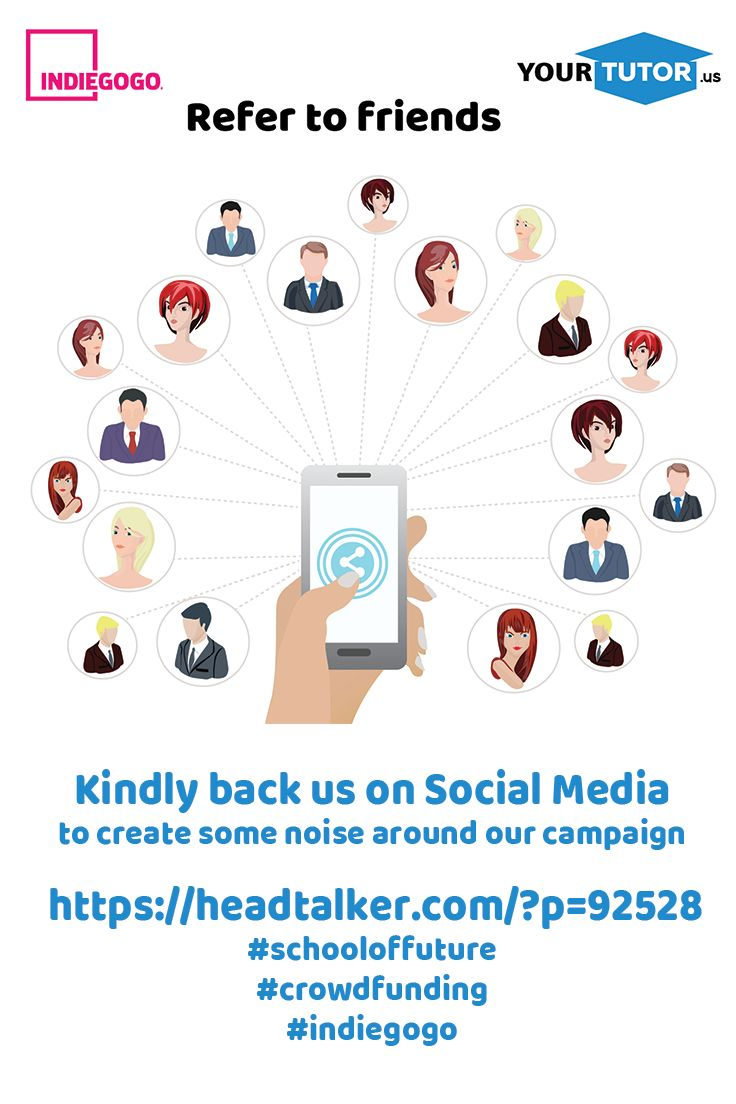 Kindly back us on Social Media  to create some noise around our campaign   https://headtalker.com/?p=92528 #schooloffuture  #crowdfunding  #indiegogo