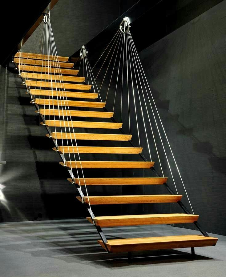 Stair Styles: 1194 Best Wood Stairs With Style Images On Pinterest