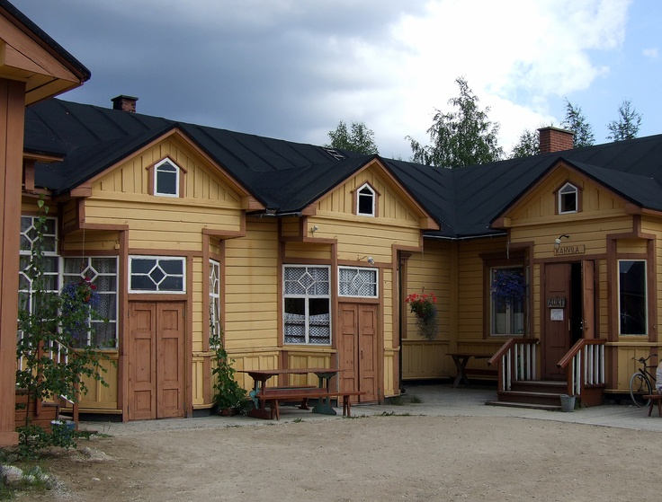 Jalava's General Store, Taivalkoski Finland. Photo via Wikimedia Commons
