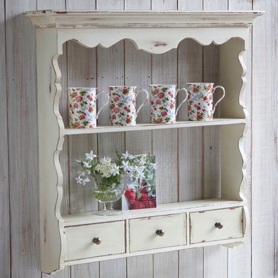rustic shelving | Rustic shelf unit - Live laugh love | Country Kitchen | Kitchen ...