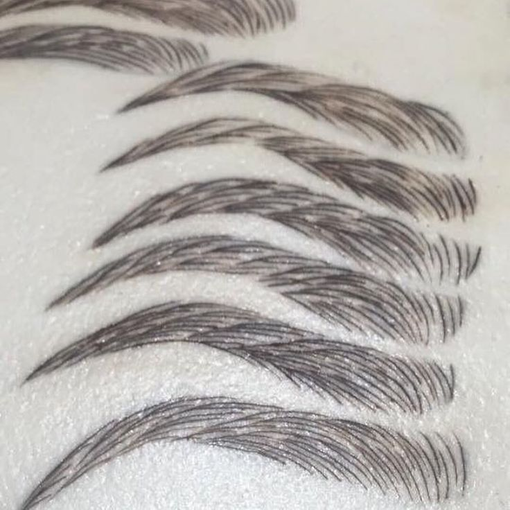 Microblading styles | Permanent Makeup | Pinterest | Style